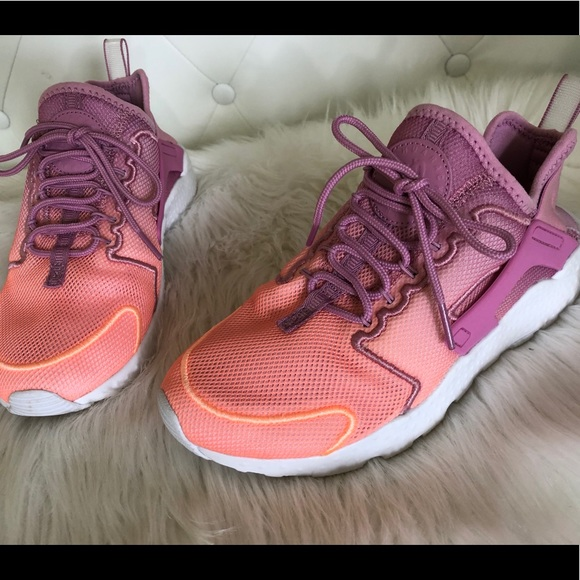 39c790f42ed4 NEW WMN Sz 7 Nike Air Huarache Run Orchard Sunset